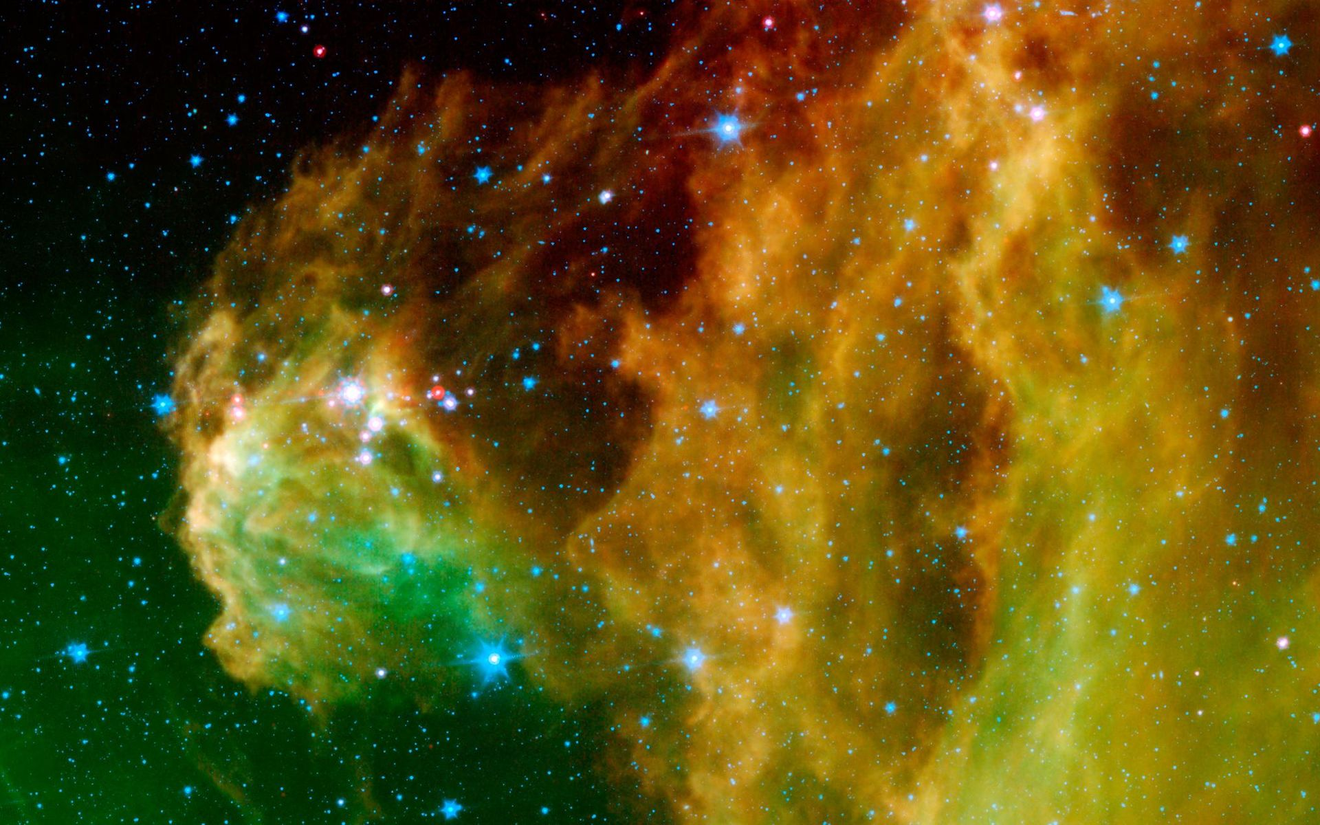 image space background