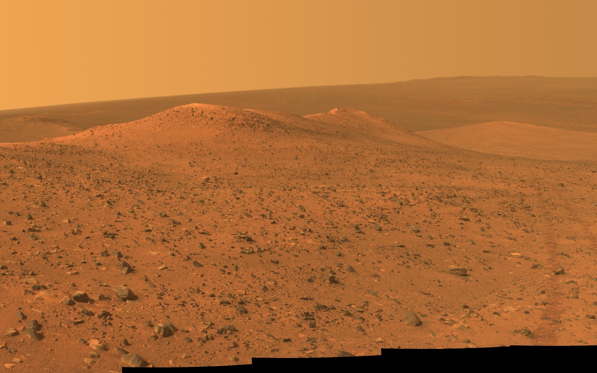 mars surface space background